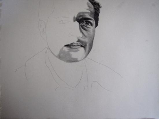 Misha Collins by Sillulillu